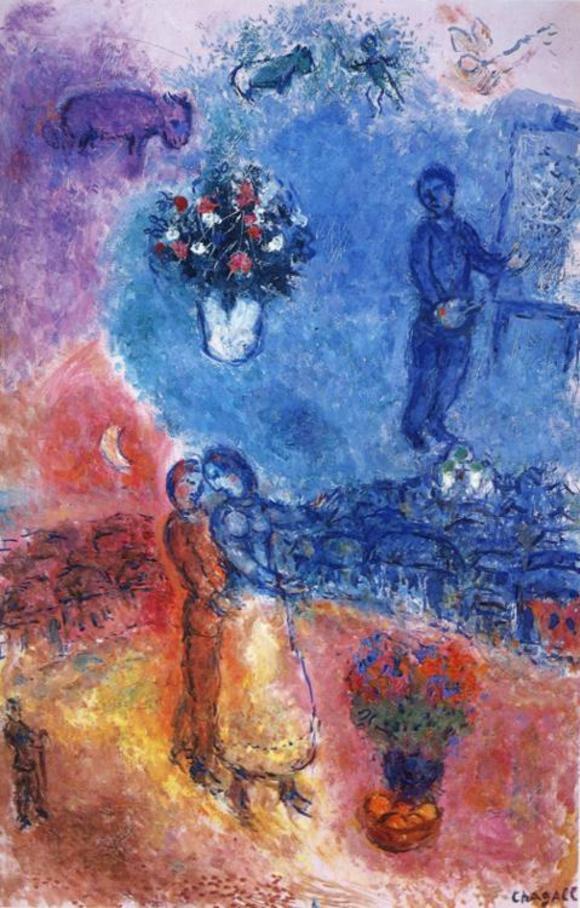 Марк Шагал :: Художник над Витебском (1982 год)